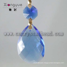 Wholesale New Products Blue Crystal Drops Chandelier Pendant
