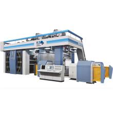 Флексопечатная машина для предварительной печати бумаги