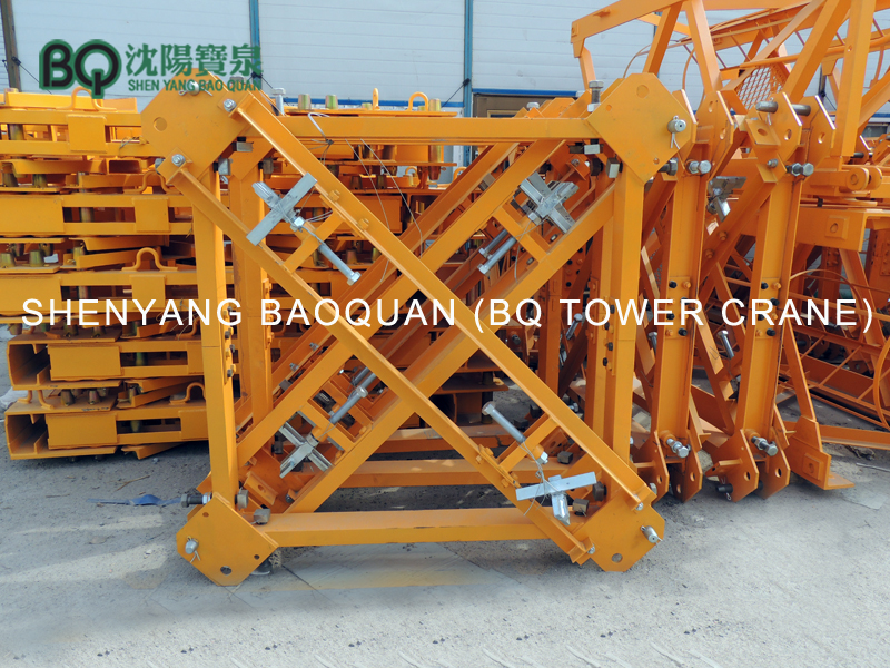 anchorage frame for tower crane