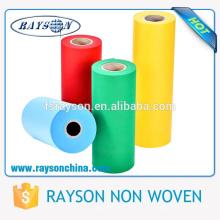 Telas no tejidas ecológicas pp de las telas de materia textil de Shenzhen Manufacturers