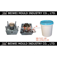 China Mainland Customize Plastic Injection Mould for Paint Bucket