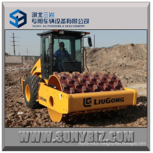 Liugong 12 Ton Hydraulic Single Drum Vibratory Compactor with Pad Foot