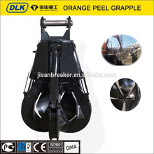 Jisan апельсиновой корки грейфер, металлолом компания Doosan грейфер, самосхват апельсиновой корки для DX210 DX225
