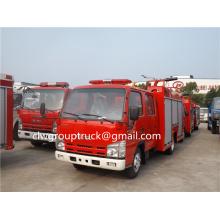 ISUZU 5000L Water Foam Tank Truck