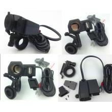 für Honda Weatherproof Motorrad USB Handy GPS Zigarettenanzünder Ladegerät
