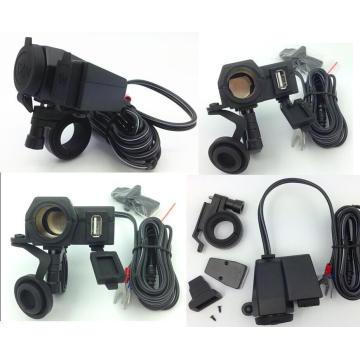 для Honda всепогодный мотоцикл USB мобильный телефон GPS прикуривателя зарядное устройство