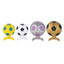 Bouteille de parfum en forme de football mignon en plastique