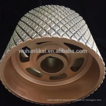 China manufacture diamond grinding wheel / disc for brake lining