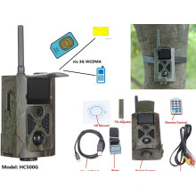 L'appareil-photo HC500G WCDMA de traînée de MMS GPRS 3G de contrôle sans fil de 12MP SMS