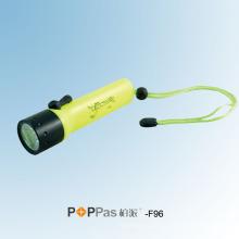 120lumens CREE Xr-E Q5 Ipx8 que mergulha a lanterna elétrica do diodo emissor de luz (POPPAS- F96)