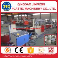 Máquina del extrusor de la hoja de la espuma de la corteza de la construcción del PVC