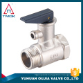 TMOK Brass safety valve with plastic handle pressure safety valve safety relief valve for water boiler