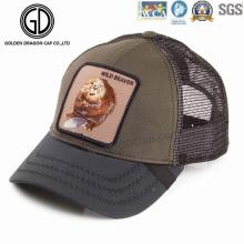 Hot Item Baseball Cotton Trucker Hat with DIY Design Badge