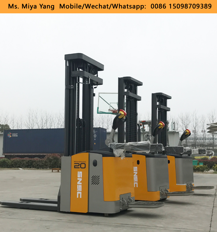 AC Motor 1.5 Ton Electric Stacker