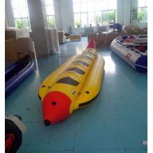 Aufblasbares PVC-Bananen-geformtes Boot