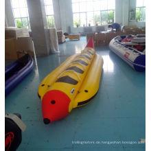 Aufblasbare PVC-Banane geformt Boot
