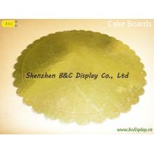Forma redonda de venda quente com flor bordas bolo tambores, Eco-Friendy com SGS (B & C-K075)