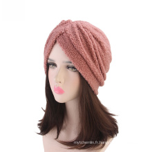 Bandana de crochet de cheveux bandanas gros hijab musulman