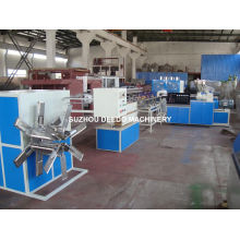 Chaîne de production de tuyau renforcé de fibre de PVC