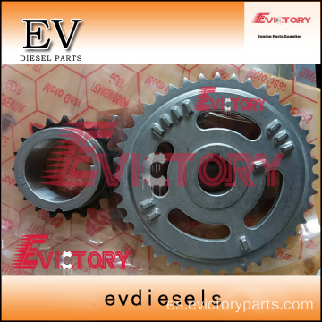 VOLVO D6D idle timing gear crankshaft camshaft gear