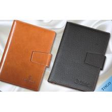 Caixa de notebook de couro / capa de notebook de couro / notebooks personalizados