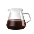 Elegant Coffee Dripper Brewer Pot Glass Carafe & Permanent Stainless Steel Filter Pour Over Coffee Maker