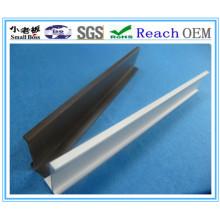 Perfil duro de PVC para decoración