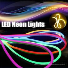 80led/m Epistar led chip DIP led neon flex green SMD5050 RGB Jacket 110v green led neon flex rope light