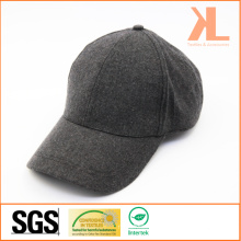 Polyester & Wolle Qualität Warm Plain Grau Baseball Cap