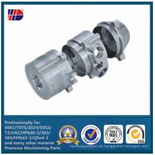 Servicios de mecanizado de prototipos rápidos CNC 7075 de aluminio