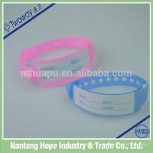 Medizinische Kunststoff Krankenhaus ID Armbänder