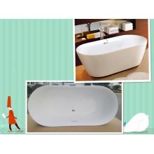 "Upc 67 ""ovale double glissière autoportante baignoire"
