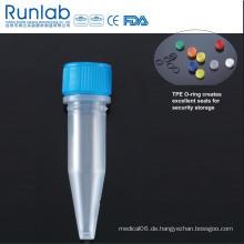 1,5 ml Mikroröhrchen mit Schraubverschluss