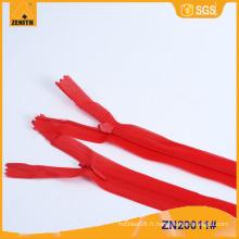 Vente en gros 3 # Zipper invisible avec ruban en dentelle ZN20011