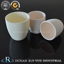 Refractory 99.6% High Alumina Ceramic Crucible for Heating