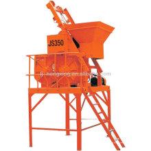 Misturador de concreto pequeno JS350 Single Shaft