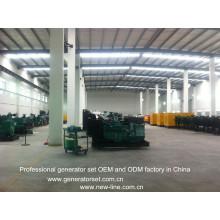 Usine d'OEM et d'ODM de Genset de puissance diesel de CUMMINS (25-2500kVA)
