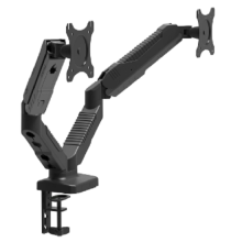 Dual Monitor Arm Gas Spring Monitor Desk Mount