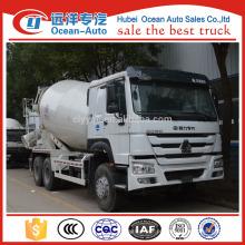Caminhão do misturador de concreto de 8 medidores cúbicos, caminhão do misturador 6x4 com fácil de operar caminhão do misturador do cimento venda
