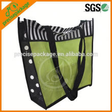 Eco friendly polypropylene shopping handbag in fashion design