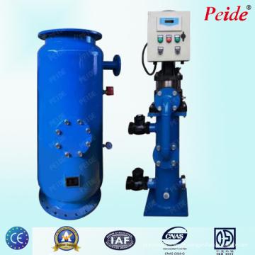 Kondensatorrohrreinigungssystem für die Wasserentkalkung von Heizungsanlagen