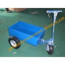 Carrinho de aço ferramenta de três rodas, reboque de ATV