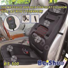 2016 Hot Sale Back Vibração Massage Heated Car Cushion