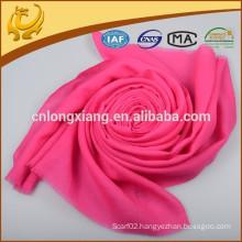Custom Design Organic Woman Red Thin Wool Scarf