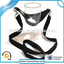 Promotion Low Price Wine Cup Holder Lanyard with Custom Logo
