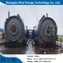 Processing Fuel Oil with Waste Plastic Machine