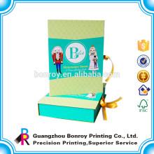 Embalaje de papel de tarjeta de felicitación