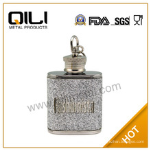 Best home decoration items 1oz mini stainless steel hip flask