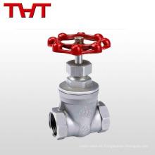 válvula de compuerta de regulación de caudal manual a351 cf8m