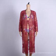 Sommer häkeln Frauen Kleidung Strand Vertuschungen Kleid
